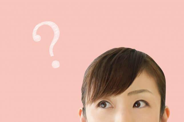 疑問の顔のイメージ